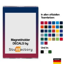 Magnetholder Decals 10er Pack